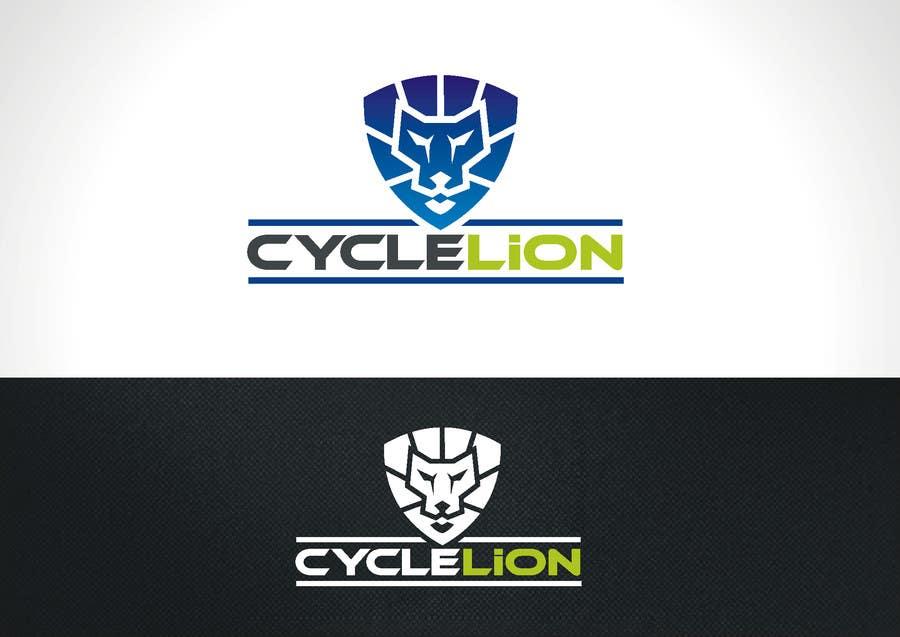 """Inscrição nº                                         34                                      do Concurso para                                         Design a Logo for """"Cycle Lion"""""""