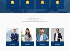#4 pentru Design smooth, elegant, luxurious, classy, sleek, BUT SIMPLE website for cutting edge technology consulting services. High tech, custom and special systems, futuristic technology company. de către mdbelal44241