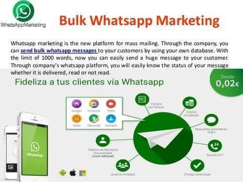 Entry #6 by mdzahidulislam17 for Bulk WhatsApp Messages App