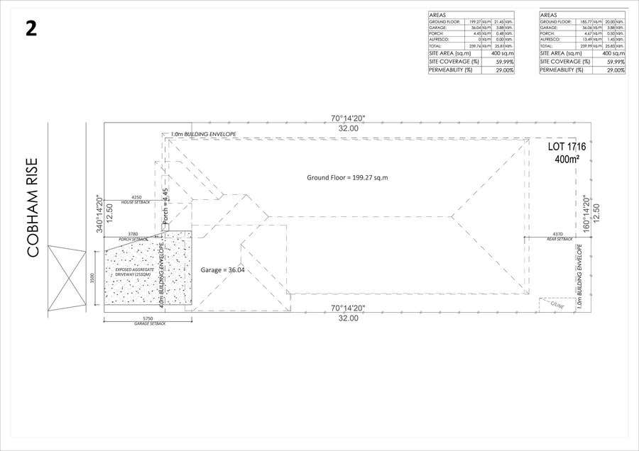 Entry #43 by mostrun for 2D Home house Designs in AUTO CAD - 2 x