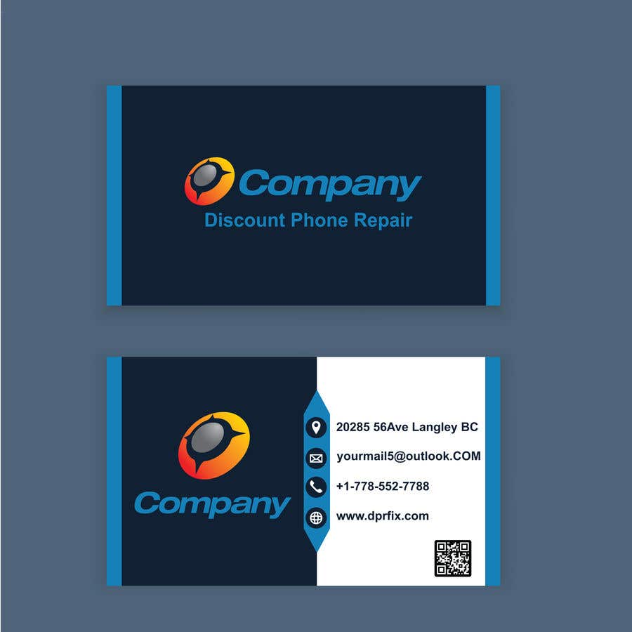 Entry 61 By Imdadulredoy For Need A Business Card Design For Cell