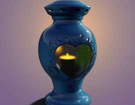 #11 dla Projekt ZNICZA na grób w kształcie serca. przez hendiart