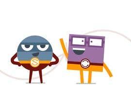 """#53 для Design two """"cartoon-super-hero-funny"""" characters от jonamromero"""