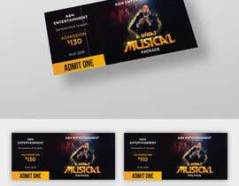 rahulsakat99 tarafından Build a A3 poster for an entertainment night andf accompanying tickets with 4 different prices için no 31