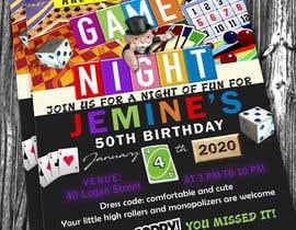 #15 para Game night invitations por adesign060208