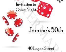 #12 para Game night invitations por dawiidee