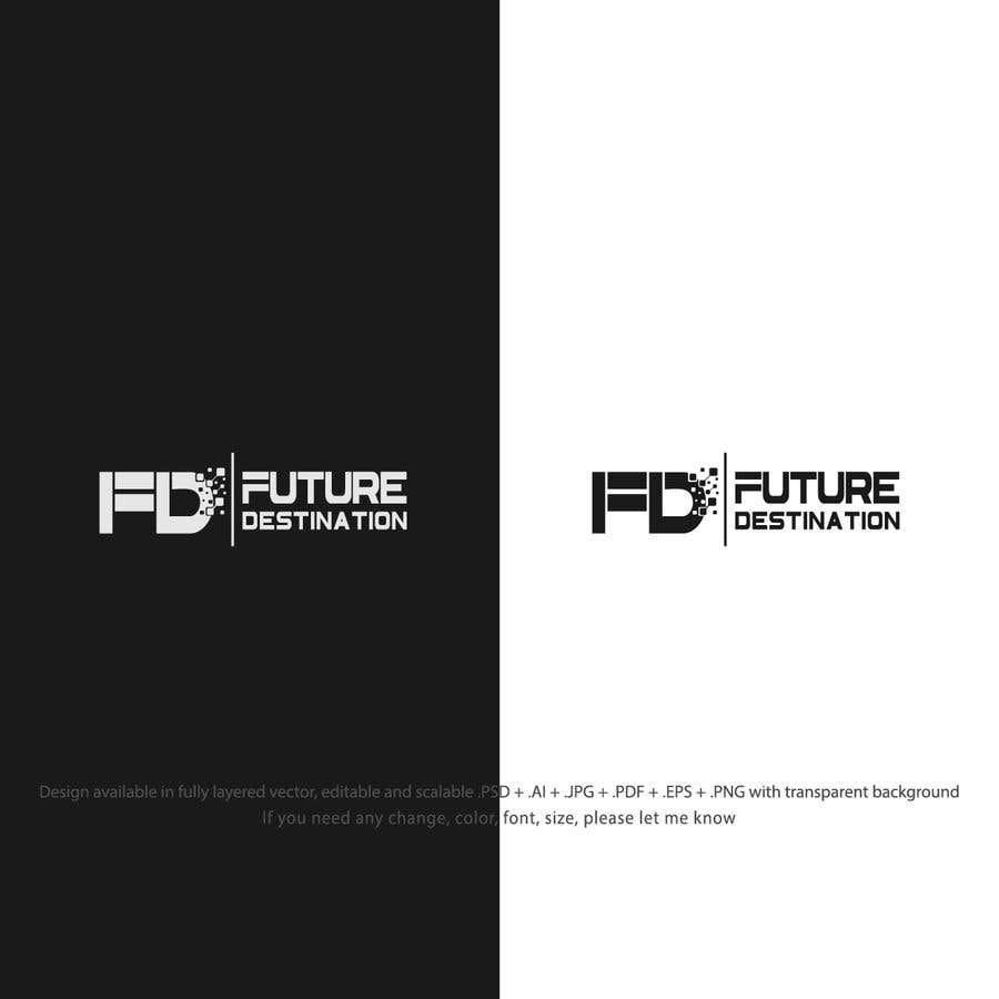 Contest Entry #134 for I want a logo designed. The name of my company is Future Destination. It is a company that for information technology provides development mobile and website applications and also i want to note that i want to use the logo with another projects