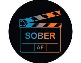 #33 untuk Sober AF Logo oleh andjapejovic