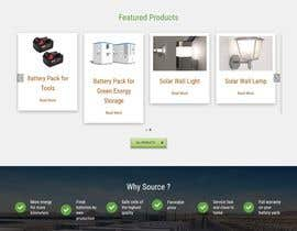 #45 untuk wordpress theme design for battery and lighting subject oleh rajbevin