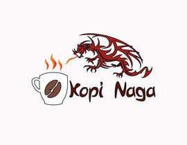 #5 for Make me a logo - Kopi Naga (Indonesian of Dragon Coffee) af creativeworker07