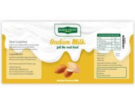 #28 for Design a label for  bottled milk juices by anshalahmed17