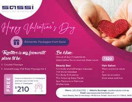 #28 para Adobe Illustrator Press Ready Postcard sized flyer for Valentine's Day por kishan0018