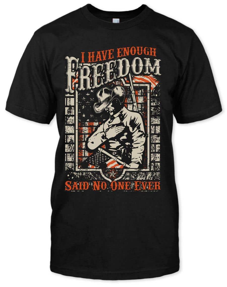 Proposition n°15 du concours We Need a T-Shirt Design - Patriotic Theme