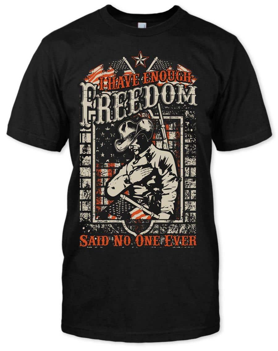 Proposition n°16 du concours We Need a T-Shirt Design - Patriotic Theme