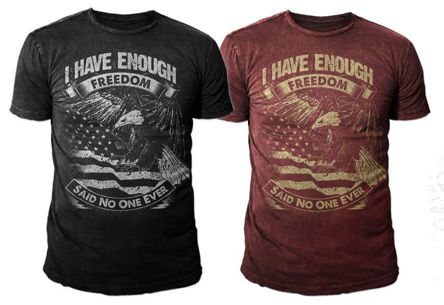 Proposition n°14 du concours We Need a T-Shirt Design - Patriotic Theme