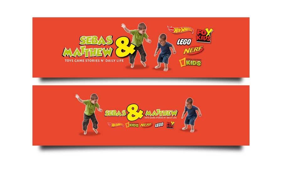 "Intrarea #20 pentru concursul ""Banner, Logo and ICON for YOUTUBE KIDS CHANNEL"""