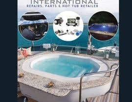 #45 untuk Flyers for hot tub company Flyer size 4X611 oleh tonmoy10designer