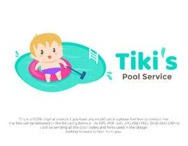 #38 for Tiki's Pool Service by mk4gfx