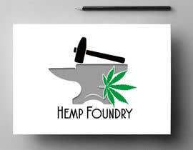 #219 untuk Logo for Hemp Foundry - Industrial Hemp Extractor Manufacturer oleh Impresiva