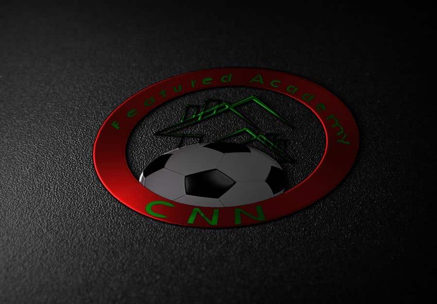 Konkurrenceindlæg #9 for Design a logo for CNN featured soccer Academy