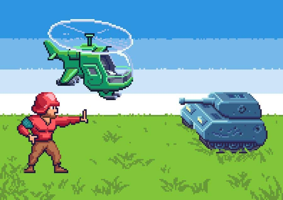 Contest Entry #10 for Create some pixel art for a turn-based strategy game