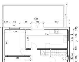 Nro 18 kilpailuun HOUSE PLAN DRAWN IN CAD käyttäjältä ralucaglc