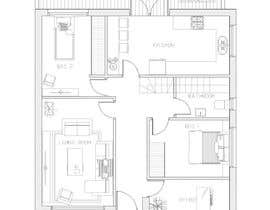 Nro 7 kilpailuun HOUSE PLAN DRAWN IN CAD käyttäjältä arqdavidsalomon