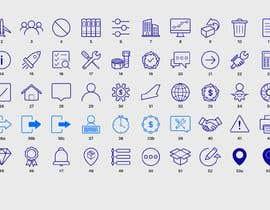 Nro 39 kilpailuun Build me a new suite of Icons käyttäjältä Zhanghuichao325