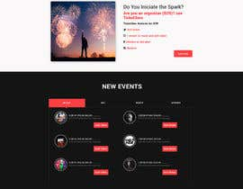 #31 for Design homepage Ticketing for events by jaswinder527