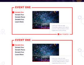 #41 for Design homepage Ticketing for events by biswajitad