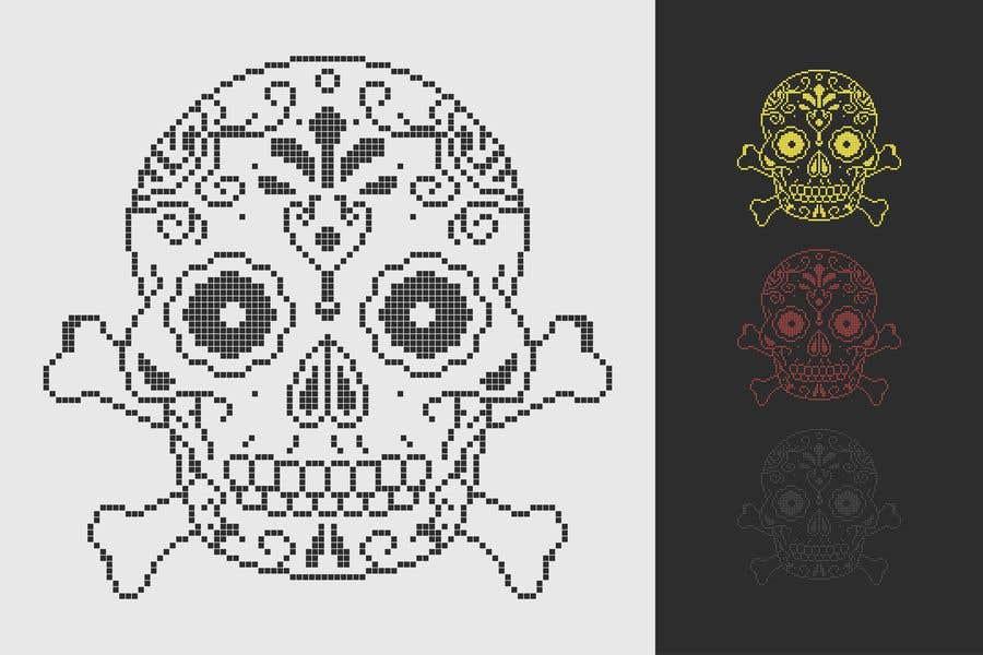Penyertaan Peraduan #100 untuk A pixel art type picture