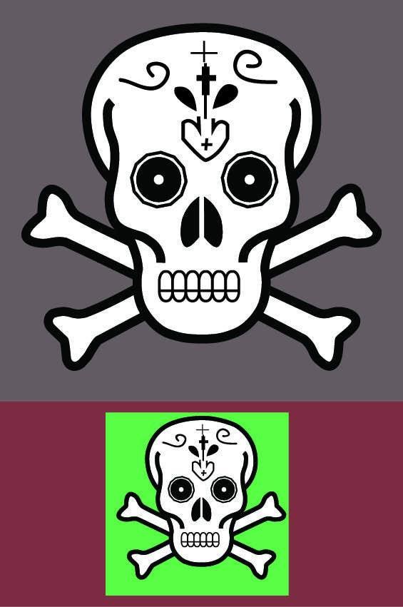 Penyertaan Peraduan #12 untuk A pixel art type picture