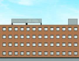 #4 for Create a 2d rendering front elevation of a building by Mihajloo