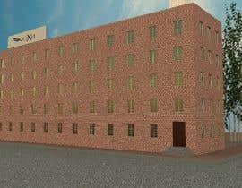#13 for Create a 2d rendering front elevation of a building by YauheniHuryn