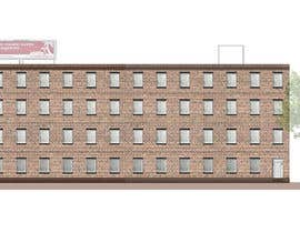 #20 for Create a 2d rendering front elevation of a building by ralucaglc