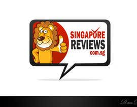 #140 dla Logo Design for Singapore Reviews przez Rubendesign