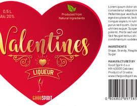vivekdaneapen tarafından Bottle label for Valentines liquer için no 27