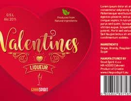 vivekdaneapen tarafından Bottle label for Valentines liquer için no 28