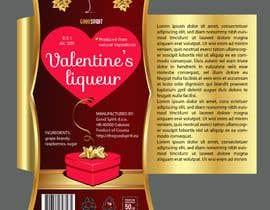 colorsitcentre tarafından Bottle label for Valentines liquer için no 22