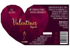 EmilyAutumnn tarafından Bottle label for Valentines liquer için no 3
