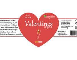 ValexDesign tarafından Bottle label for Valentines liquer için no 4