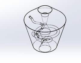 #27 for Design for Shisha/Hookah part needed ( adapter) 3D by sihagarts
