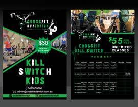 Nro 13 kilpailuun build me a advertising sticker for a gym window käyttäjältä Sreesujitdeb