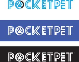 "#114 para Design a Logo for a online presence names ""pocketpet"" de Mostafiz600"