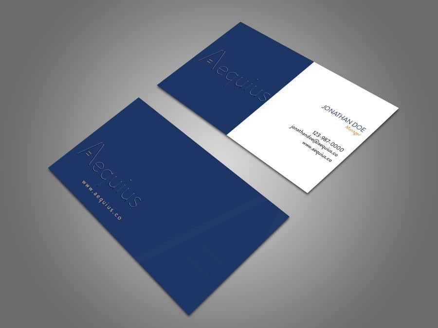 Penyertaan Peraduan #764 untuk Business Card Design