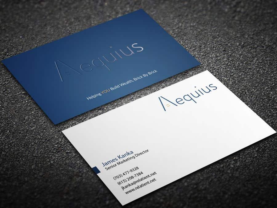Penyertaan Peraduan #207 untuk Business Card Design