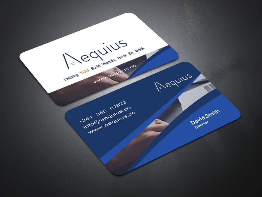 Penyertaan Peraduan #570 untuk Business Card Design