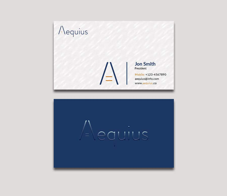 Penyertaan Peraduan #592 untuk Business Card Design