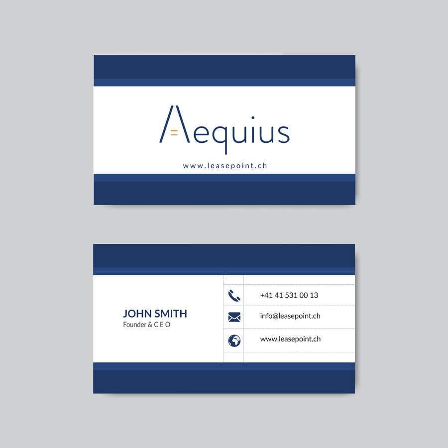 Penyertaan Peraduan #738 untuk Business Card Design