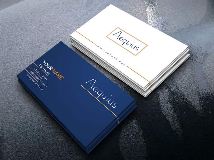 Penyertaan Peraduan #647 untuk Business Card Design
